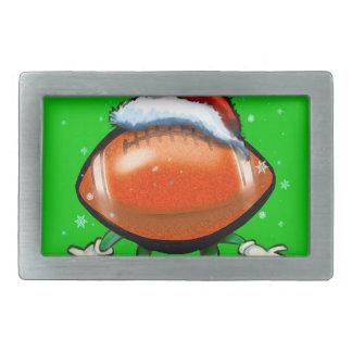 Boucles De Ceinture Rectangulaires Noël du football