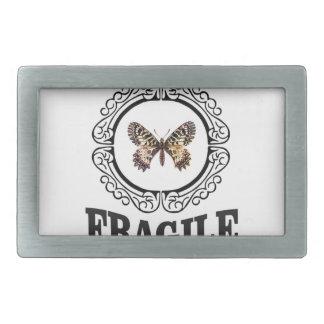 Boucles De Ceinture Rectangulaires papillon fragile rond