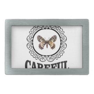 Boucles De Ceinture Rectangulaires papillon soigneux