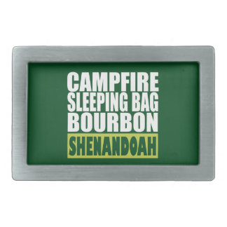 Boucles De Ceinture Rectangulaires Sac de couchage de feu de camp Bourbon Shenandoah