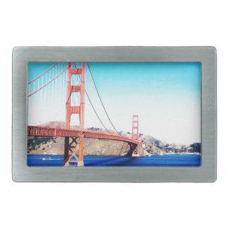 Boucles De Ceinture Rectangulaires San Francisco golden gate bridge la Californie