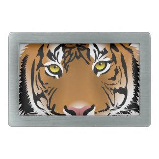 Boucles De Ceinture Rectangulaires Sauvez les tigres