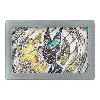 Boucles De Ceinture Rectangulaires Silhouette de colibri
