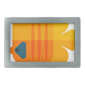 Boucles De Ceinture Rectangulaires Style jaune de primitif de poissons d'ange