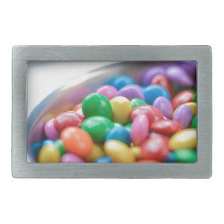 Boucles De Ceinture Rectangulaires sucrerie colorée