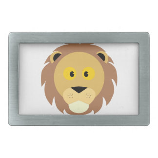 Boucles De Ceinture Rectangulaires Tête de Lion