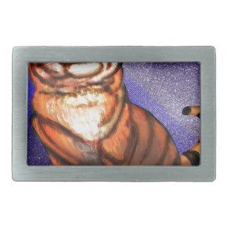 Boucles De Ceinture Rectangulaires Tigre