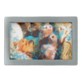 Boucles De Ceinture Rectangulaires trous de fond océanique
