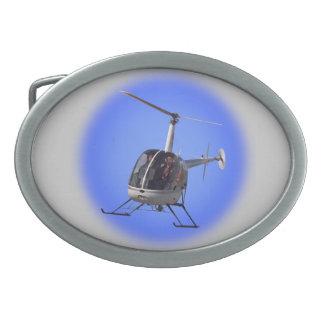 Boucles de pilote d'hélicoptère de boucle de ceint boucles de ceinture ovales