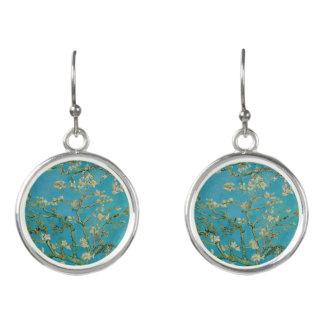 Boucles D'oreilles Arbre d'amande de floraison par Van Gogh