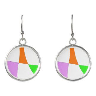 Boucles D'oreilles Ballons colorés abstraits