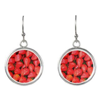 Boucles D'oreilles Beaucoup de fraises !