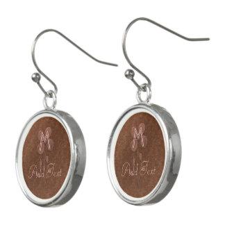 Boucles D'oreilles Boucles d'oreille décorées d'un monogramme de