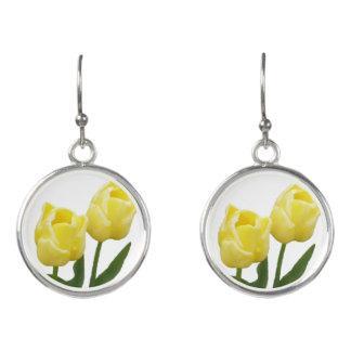 Boucles D'oreilles Boucles d'oreille jaunes de tulipes