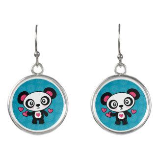Boucles D'oreilles Boucles d'oreille mignonnes de baisse de panda