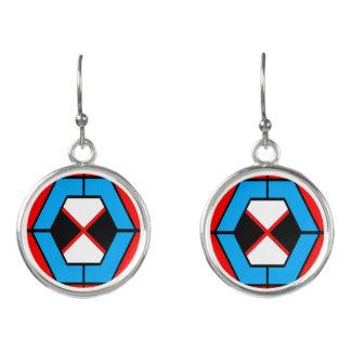 Boucles D'oreilles Boucles d'oreille vibrantes géométriques