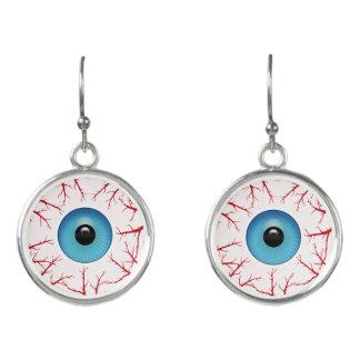 Boucles D'oreilles Globes oculaires injectés de sang