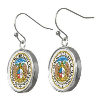 Boucles D'oreilles Joint d'état du Missouri -