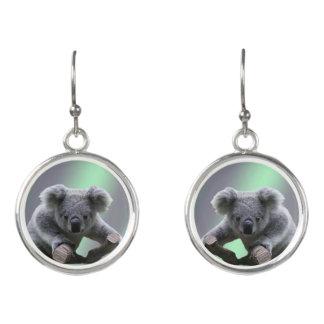 Boucles D'oreilles Ours de koala