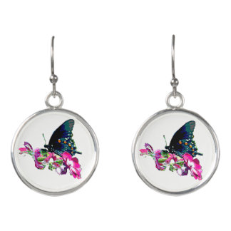 Boucles D'oreilles Papillon du Tennessee