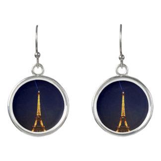 Boucles D'oreilles Paris par nuit les boucles d'oreille de Tour