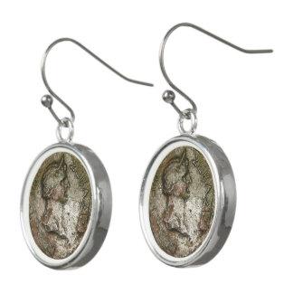 Boucles D'oreilles Pièce de monnaie romaine antique