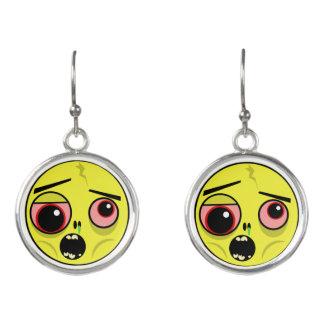 Boucles D'oreilles Visage de zombi