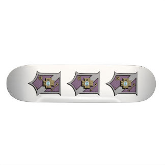 Bouclier 4-Color du sigma pi Plateau De Skateboard