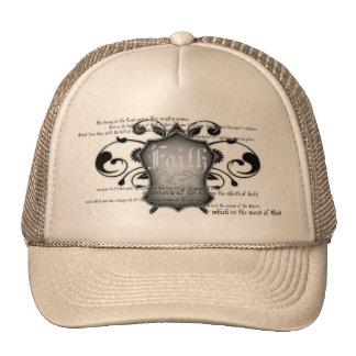 Bouclier de casquette chrétien de la foi (armure