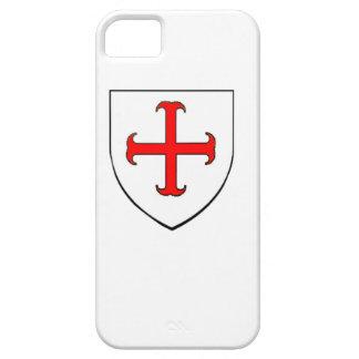 Bouclier de croisade de Templar de chevaliers Coque Barely There iPhone 5