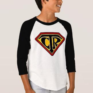 Bouclier de CTR - T-shirt de base-ball de la