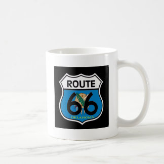 Bouclier de l'itinéraire 66 de drapeau de mug