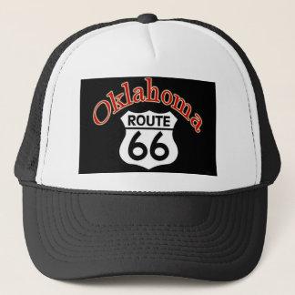Bouclier de l'itinéraire 66 de l'Oklahoma Casquette