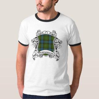 Bouclier de tartan de Ferguson T-shirt