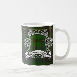 Bouclier de tartan de Henderson Mug