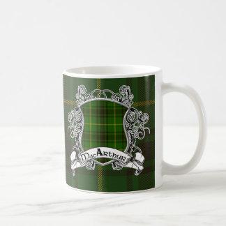 Bouclier de tartan de MacArthur Mug