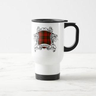 Bouclier de tartan de Skinner Mug De Voyage
