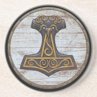 Bouclier de Viking - Mjolnir Dessous De Verres