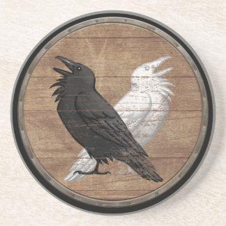 Bouclier de Viking - Ravens d'Odin Dessous De Verre