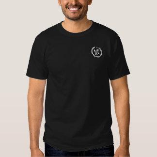 Bouclier et chemise dominicains de devise t-shirts