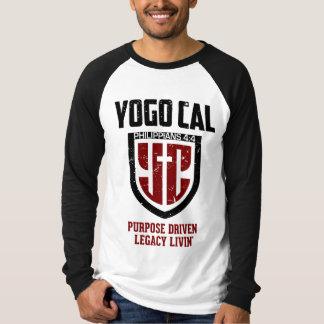 Bouclier fort de YCal des hommes T-shirt