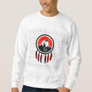 Bouclier indien indigène sweatshirt