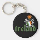 Bouclier Keychain de l'Irlande Porte-clef