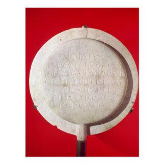 Bouclier votif en l'honneur d'Augustus Carte Postale