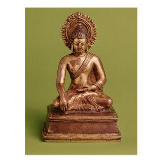 Bouddha assis carte postale