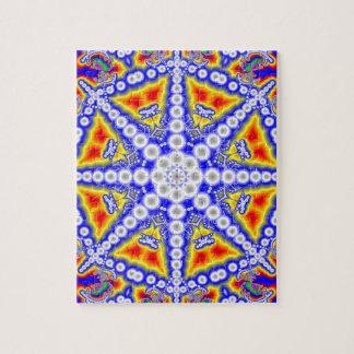 Bouddha bleu puzzle