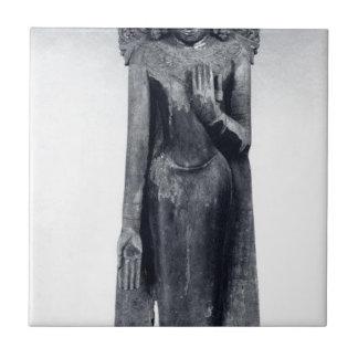 Bouddha couronné - période païenne petit carreau carré