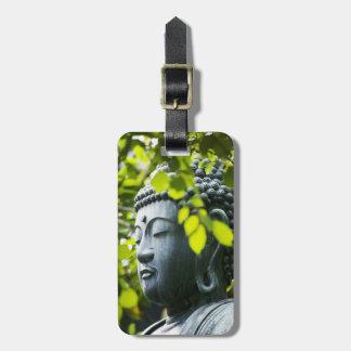 Bouddha dans le jardin de temple de Senso-JI Étiquettes Bagages