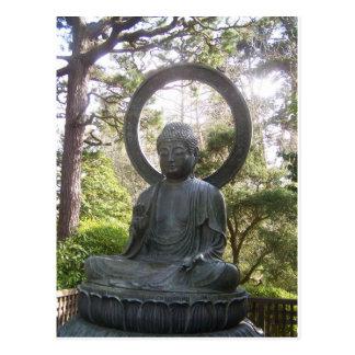 Japonais bouddha cartes postales for Bouddha dans jardin
