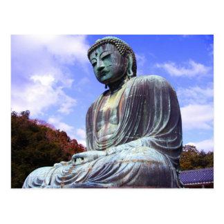 Bouddha de Kamikura 2 - carte postale